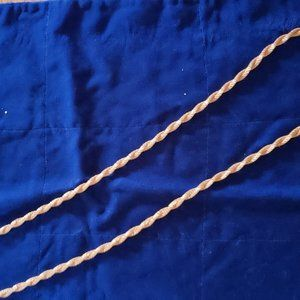 Vintage Sarah Coventry Costume Gold Rope Necklace